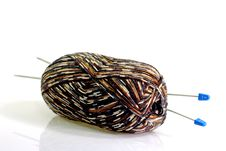 Knitting Things Stock Images