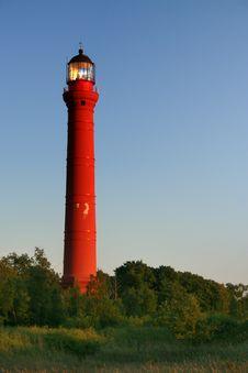Lighthouse, Paldiski Coast Royalty Free Stock Image