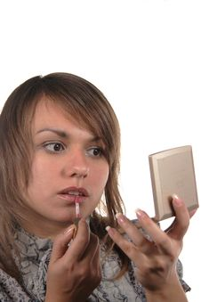 Free Make-up Royalty Free Stock Images - 3841239
