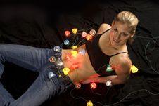 Free Christmas Lights Stock Photos - 3842153