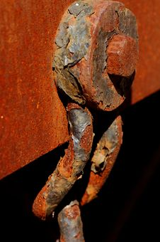 Rusted Bolt Royalty Free Stock Photos