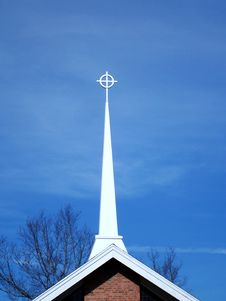 Free Church Steeple Royalty Free Stock Image - 3843326