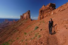 Free Hiking In Utah Royalty Free Stock Photos - 3843358