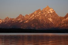 Grand Teton Royalty Free Stock Photography