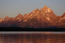 Free Grand Teton Royalty Free Stock Photography - 3843387