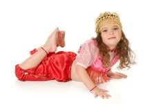 Free The Dancing Girl Royalty Free Stock Photography - 3843887