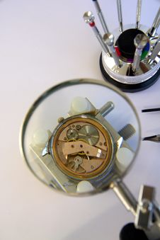 Free Watchmaker Royalty Free Stock Photos - 3844408