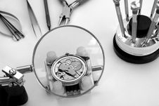 Free Watchmaker Royalty Free Stock Image - 3844416