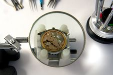 Free Watchmaker Royalty Free Stock Photo - 3844435