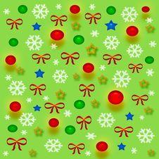 Free Christmas Gift Bag Stock Image - 3845811