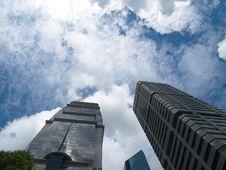 Free Modern Skyscrapers Stock Image - 3847401