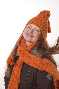 Free Woman In Winter Clothes Stock Images - 3847474