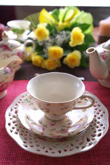 Beauty Porcelain Pottery Stock Photography