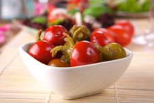 Free Fresh Pepper Salad Royalty Free Stock Images - 3848269