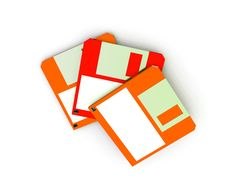 Free Floppy Disc 7 Royalty Free Stock Image - 3849296