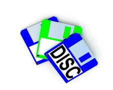Free Floppy Disc 9 Royalty Free Stock Photography - 3849297