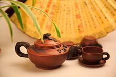 Free China S Tea Utensils Purple Sand Pot Stock Photo - 38400310