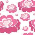 Free Pink Roses Pattern Royalty Free Stock Photo - 38437225