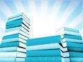 Free 3d Books Massive For Design Stock Photo - 3850220