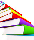 Free 3d Books Massive For Design Royalty Free Stock Images - 3850439