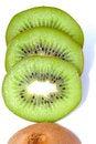 Free Pieces Of Kiwi Stock Photos - 3852473
