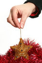 Free Festive Star In Hand Stock Photography - 3854452
