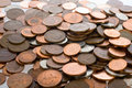Free Pile Of UK Coins, Penny Royalty Free Stock Photo - 3859845