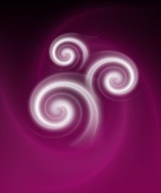 Free Abstract Background With Twirls Royalty Free Stock Photos - 3850158