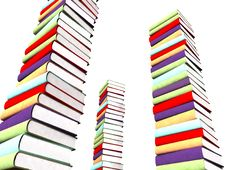 Free 3d Books Massive For Design Royalty Free Stock Photo - 3850265