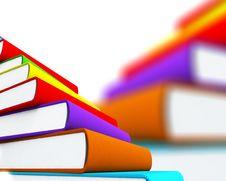 Free 3d Books Massive For Design Stock Photo - 3850440