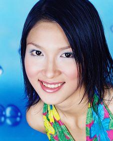 Free Girl Smile Face Stock Photos - 3850443