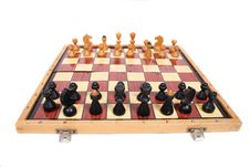 Free Chess Set Royalty Free Stock Photo - 3851105