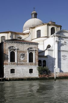 Free Venice, Italy - Water Front Facade Royalty Free Stock Photos - 3851198