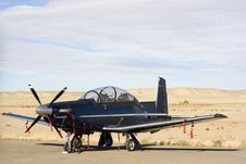 Free Small Plane - Moab, Utah Royalty Free Stock Photography - 3851597