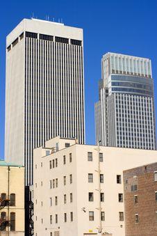 Omaha, Nebraska - Downtown Royalty Free Stock Images