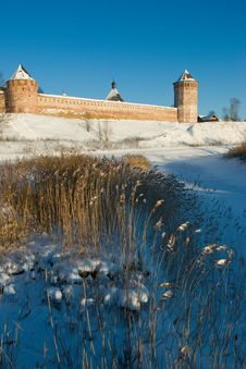 Free View At Suzdal Friary Royalty Free Stock Photo - 3852375