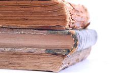 Free Three Ancient Vintage Books. Stock Image - 3852441