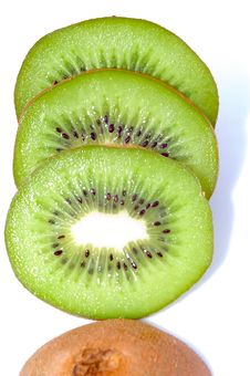 Free Pieces Of Kiwi Stock Photos - 3852473