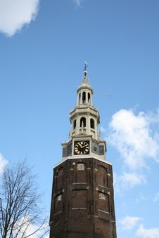 Free Church In Amsterdam, Netherlands Royalty Free Stock Photo - 3852885