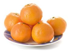 Free Tangerines Stock Photography - 3854002
