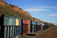 Free Beach Huts Stock Photography - 3854022