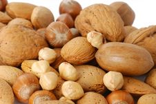 Free Mix Of Nuts Stock Images - 3854034