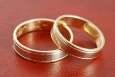 Free Wedding Rings Royalty Free Stock Photos - 3854088