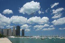 Free Chicago Pier Royalty Free Stock Image - 3856016