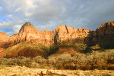 Free Cliffs Of Zion National Park, Utah Stock Photos - 3856243