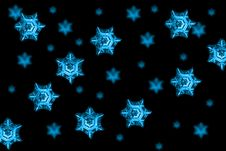 Free Snow Flakes Stock Image - 3856891