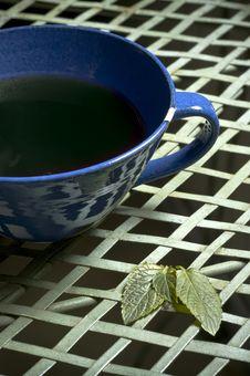 Free Mint Tea Cup Royalty Free Stock Photos - 3857388