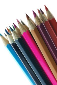 Free Background Color Pencils Royalty Free Stock Images - 3858879