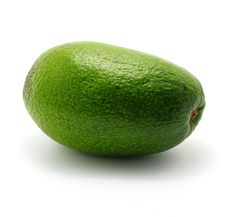 Free Single Avocado Royalty Free Stock Image - 3858886