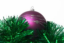 Free Lilac Fur-tree Toy Royalty Free Stock Images - 3859589